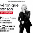 Véronique Sanson en concert à Paris au mois de décembre 2017