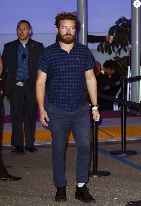 Danny Masterson - Les Célébrités arrivent au concert des Kings Of Leon à Los Angeles le 28 janvier 2017.