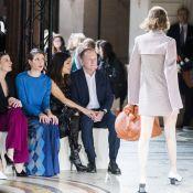 Fashion Week : Charlotte Casiraghi, lumineuse et bien entourée