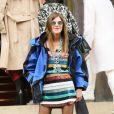 """Anna Dello Russo - Défilé de mode prêt-à-porter automne-hiver 2017/2018 """"Giambattsita Valli"""" à Paris. Le 6 mars 2017. © CVS / Veeren / Bestimage"""