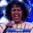 """Emilie de la """"Star Academy 4"""" de retour dans """"N'oubliez pas les paroles"""", samedi 4 mars 2017, France 2"""