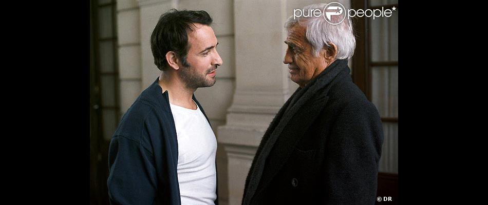 Jean dujardin et jean paul belmondo dans un homme et son for Dujardin belmondo