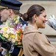 Céremonie en l'honneur de la princesse Victoria de Suède le jour de la Sainte Victoria au palais Royale à Stockholm le 12 mars 2017 12/03/2017 - Stockholm