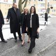 La princesse Sofia de Suède inaugurait le 9 mars 2017 à Stockholm les nouvelles installations de l'hôpital Södertälje.