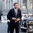 Le prince Harry - Arrivées à la messe célébrée à l'occasion de la journée du Commonwealth à l'Abbaye de Westminster à Londres. Le 13 mars 2017