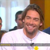 """Camille Lacourt en retard dans """"La Nouvelle édition"""" : Son excuse amuse..."""