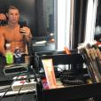 Cristiano Ronaldo et ses abdos, c'est du sérieux. Photo Instagram fin 2016.