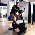 Cristiano Ronaldo s'entraîne, encore et encore. Photo Instagram.