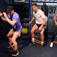 Cristiano Ronaldo inaugurait le 13 mars 2017 la salle de sport CR7 Crunch Fitness à Madrid. Photo Instagram.