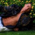 Cristiano Ronaldo et ses abdominaux, une belle histoire... Photo Instagram décembre 2016.