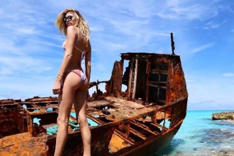 Devon Windsor : Sublime en bikini pour le début du printemps