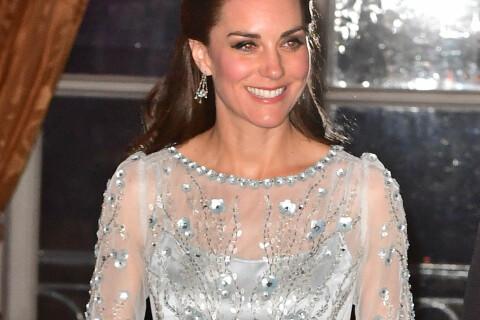 Kate Middleton : Deux robes pour son 1er gala à Paris, elle fait sensation