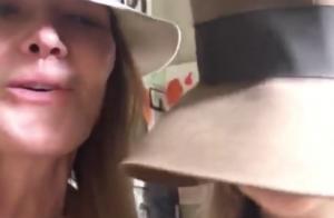 Carla Bruni, tout sourire pour chanter avec sa petite Giulia: Une vidéo adorable