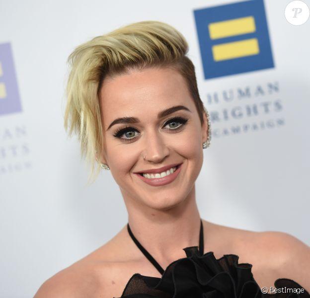 Katy Perry à la soirée Human Rights Campaign au JW Marriott à Los Angeles, le 18 mars 2017 © AdMedia via Zuma/Bestimage
