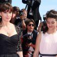 """Monica Bellucci - Montée des marches du film """"Le Meraviglie"""" lors du 67 ème Festival du film de Cannes – Cannes le 18 mai 2014."""