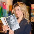 """Tristane Banon lors de la soirée des """"Femmes de talent"""" à la boutique Apostrophe à Paris, France, le 21 mars 2017."""