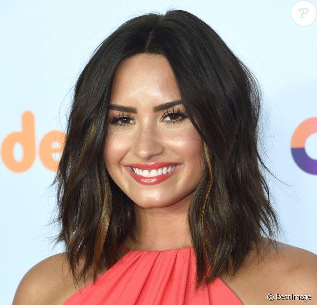 "Demi Lovato - Soirée des ""Nickelodeon's 2017 Kids' Choice Awards"" à Los Angeles le 11 mars 2017."