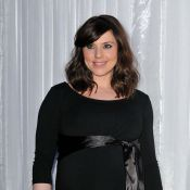 Mel C est très enceinte.... mais de profil : encore plus !