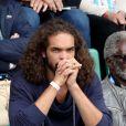 Joakim Noah - People dans les tribunes des internationaux de France de Roland Garros à Paris le 4 juin 2016. © Moreau - Jacovides / Bestimage