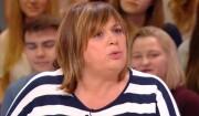 """Michèle Bernier invitée du """"Petit Journal"""" de Canal + le  23 mars 2017."""