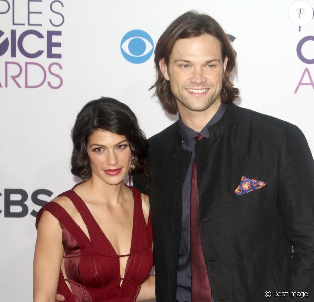 Jared Padalecki, Genevieve Padalecki - Soiree des 'People Choice Awards' a Los Angeles le 9 janvier 2013