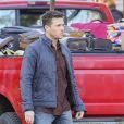 Exclusif - Ryan Phillippe sur le tournage de ''Wish Upon'' à Toronto, le 14 novembre 2016.