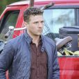 Exclusif - Ryan Phillippe sur le tournage de ''Wish Upon'' à Toronto, le 14 novembre 2016.