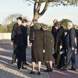 La reine Sofia d'Espagne et le roi Juan Carlos Ier d'Espagne sont allés se recueillir auprès de la dépouille de la princesse Alicia de Bourbon-Parme, tante du roi Juan Carlos décédée le 28 mars 2017 à 99 ans, et présenter leurs condoléances à sa famille lors de ses funérailles près de Madrid, le 29 mars 2017.