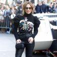 Jennifer Lopez arrive à l'émission 'The Today Show' à New York, le 2 mars 2017