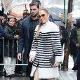 """Jennifer Lopez va participer à l'émission """"The View"""" à New York, le 1er Mars 2017."""