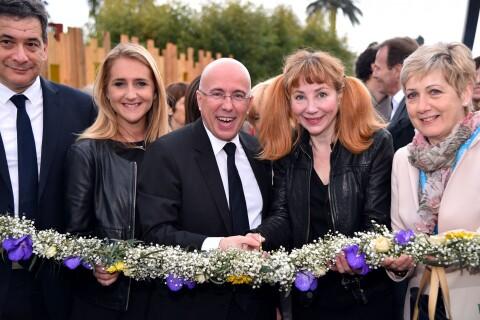 Julie Depardieu radieuse marraine d'un Festival fleuri