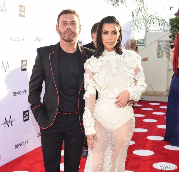 Mert Alas et Kim Kardashian- 3ème édition des Daily Front Row's Fashion Los Angeles Awards à l'hôtel Sunset Tower à West Hollywood, le 2 avril 2017.