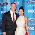 John Cena et Nikki Bella, ici lors de la finale d'American Idol à Los Angeles en avril 2016, se sont fiancés sur le ring lors de WrestleMania 33, le 2 avril 2017 à Orlando en Floride.