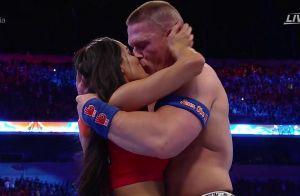 John Cena et Nikki Bella : Le couple superstar fiancé sur le ring à WrestleMania