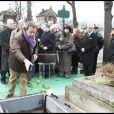 Paul Wermus aux obsèques de Georges Cravenne