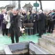 Thomas Fabius aux obsèques de Georges Cravenne