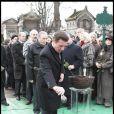 Christian Estrosi aux obsèques de Georges Cravenne