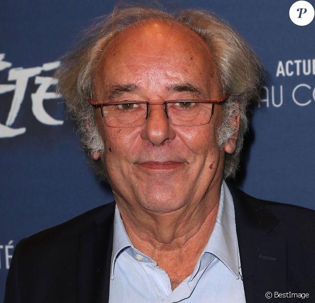 """Maxime Le Forestier - Générale de la comédie musicale """"Un été 44"""" au Comédia à Paris le 9 novembre 2016. © Cyril Moreau/Bestimage"""
