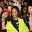 Rihanna - Défilé Fenty Puma by Rihanna à Paris le 6 mars 2017.