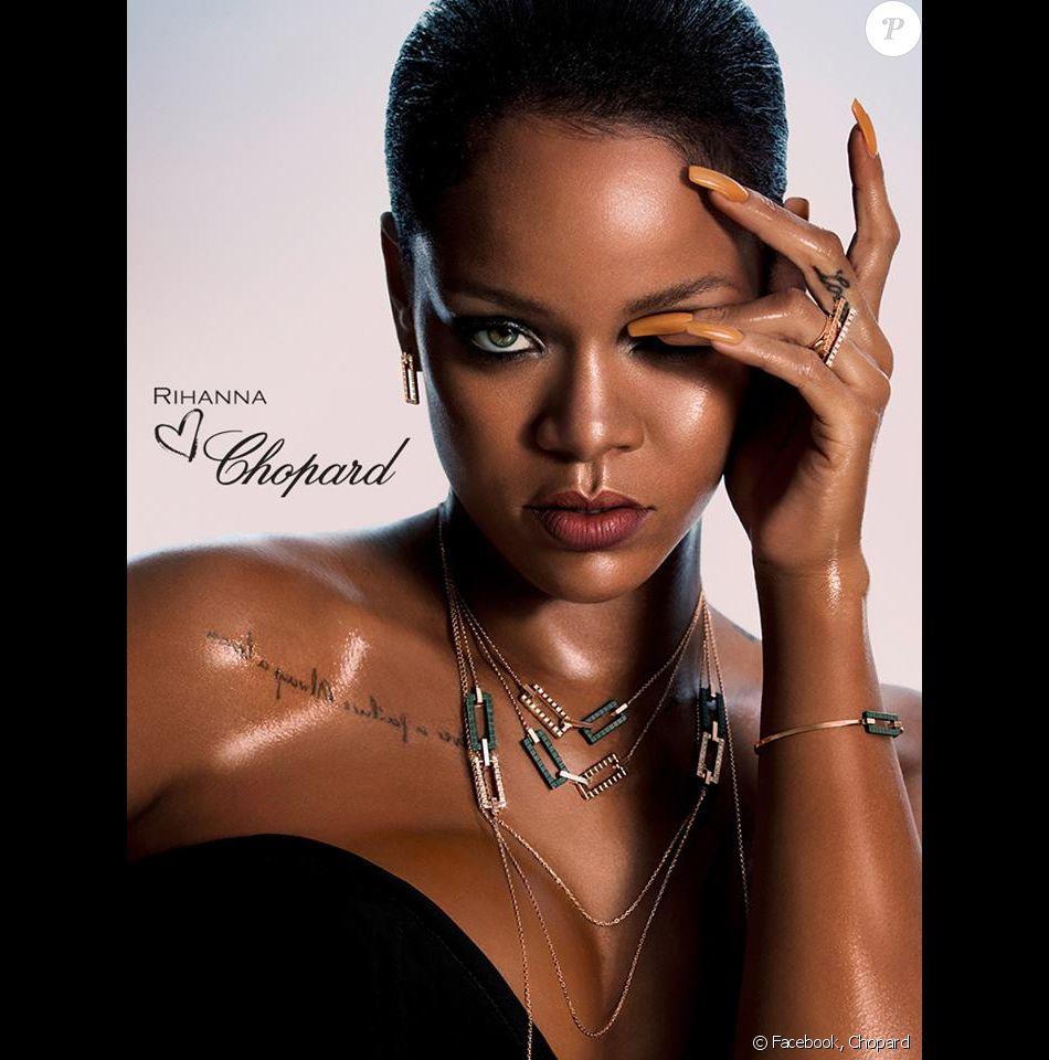 La superstar se lance dans la joaillerie — Rihanna aime Chopard