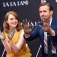 Ryan Gosling et Emma Stone à Hollywood, le 7 décembre 2016.