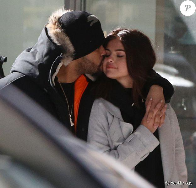 Exclusif - Selena Gomez et The Weeknd (Abel Tesfaye) à Toronto, le 16 mars 2017. © CPA/Bestimage