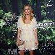 Sienna Miller (robe Chloé) lors de la première de The Lost City of Z aux ArcLight Cinemas Hollywood, Los Angeles, le 5 avril 2017.