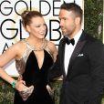 Ryan Reynolds et sa femme Blake Lively - 74ème cérémonie annuelle des Golden Globe Awards à Beverly Hills. Le 8 janvier 2017