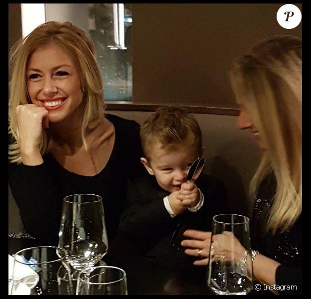 """Stéphanie Clerbois (""""Secret Story 4"""") est mère célibataire. Elle a un fils, Lyam, âgé de 2 ans."""