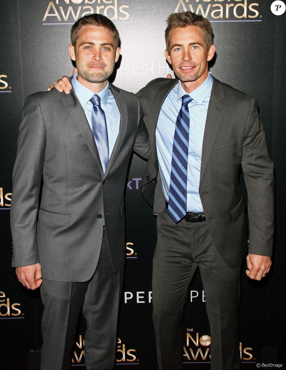 Cody Walker et Caleb Walker à la 3ème soirée annuelle Noble Awards à Beverly Hills, le 27 février 2015