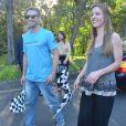 """Cody Walker, le frère de Paul Walker, a lancé, aux côtés de sa compagne, l'événement caritatif """"Paul Walker's Car Convoy Charity Drive"""" à Sydney. Le 11 avril 2015"""