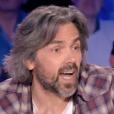 """Aymeric Caron insulté par Éric Zemmour dans """"On n'est pas couché"""" sur France 2. Le 15 avril 2017."""