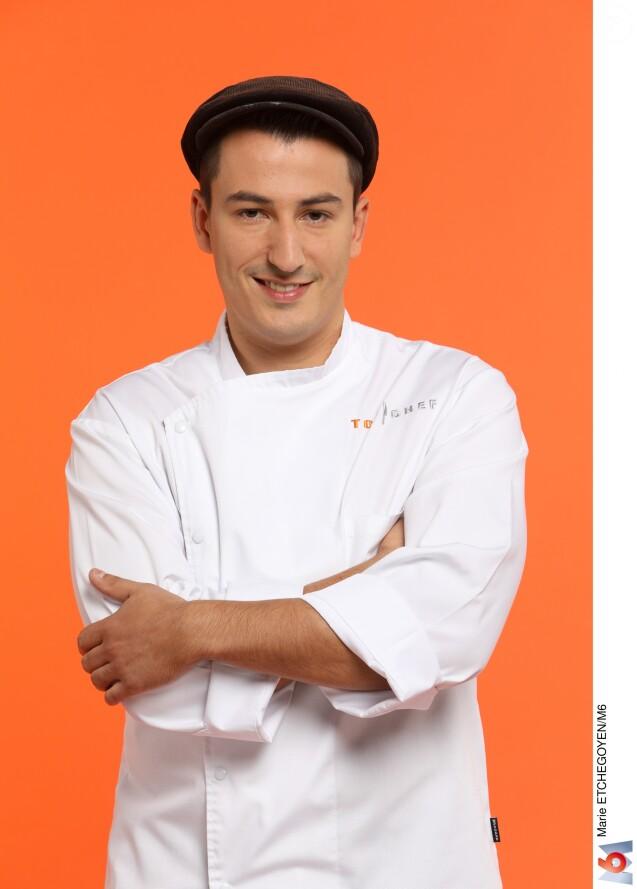 """Jérémie Izarn (27 ans) - Candidat de """"Top Chef 2017"""" sur M6."""