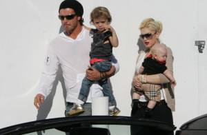 Gwen Stefani en famille : son dernier né est déjà une fashion victime !
